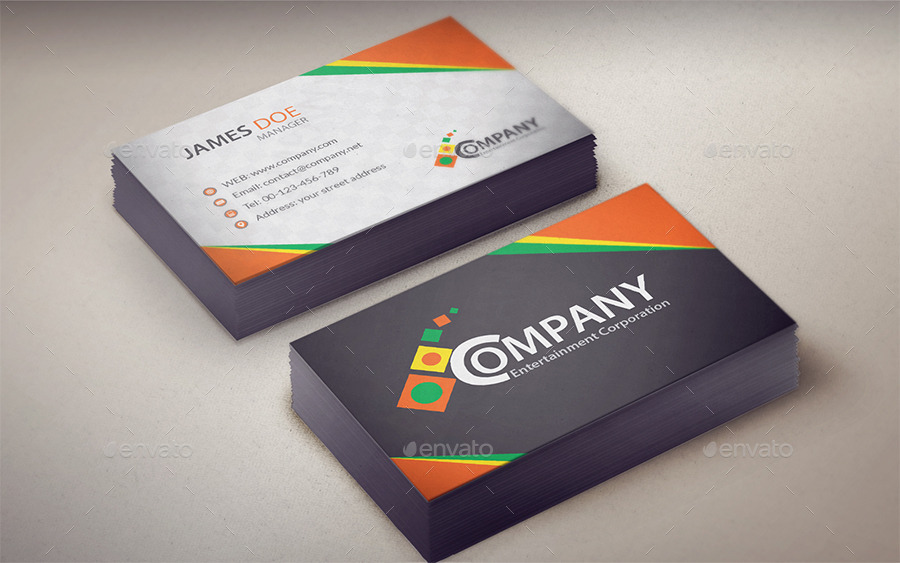 Corporate Business Card V1 – OumaSoft portfolio