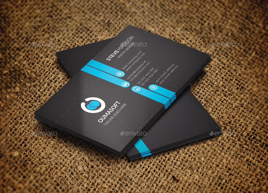 Business Cards – OumaSoft portfolio